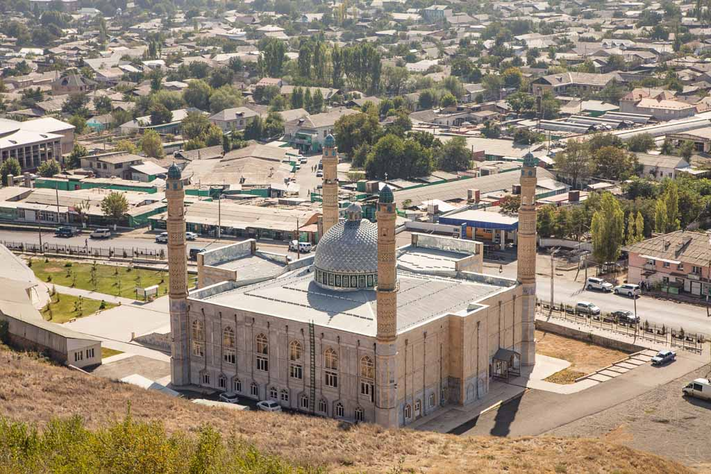 Suleiman Too, Suleiman Too Mosque, Osh, Kyrgyzstan