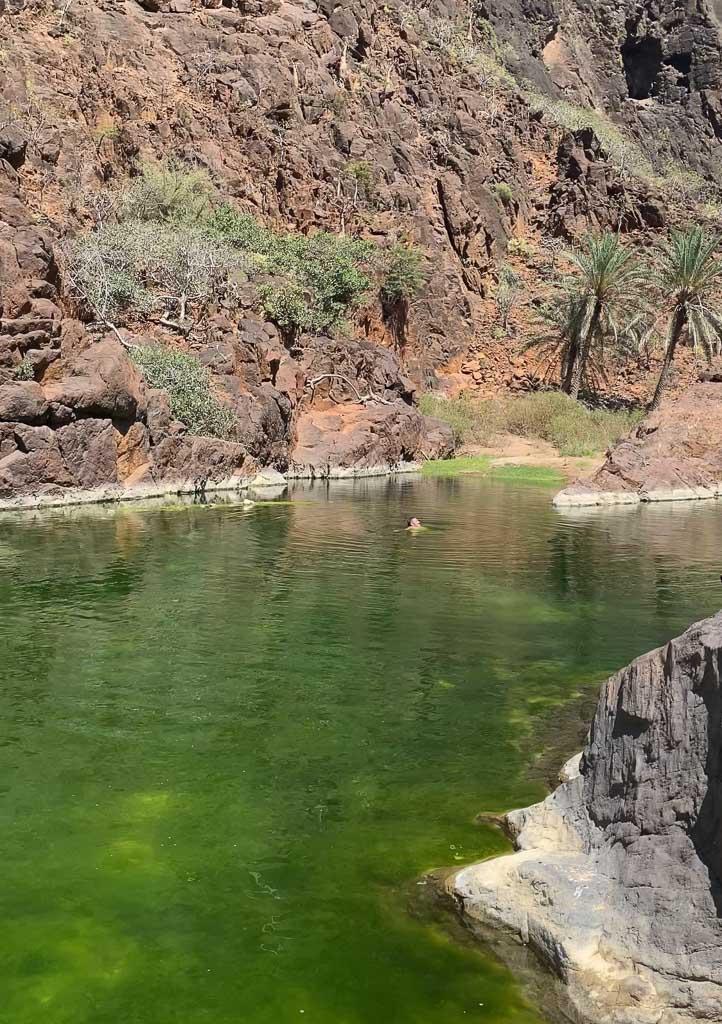 Wadi Dirhur, Wadi Dirhur Pools, Socotra, Yemen