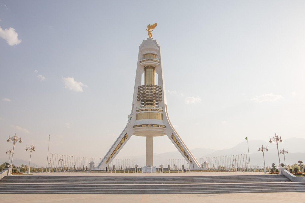 Arch of Neutrality, Ashgabat, Turkmenistan