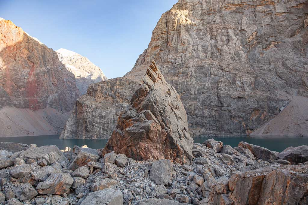 Bolshoi Allo, Fann Mountains, Tajikistan