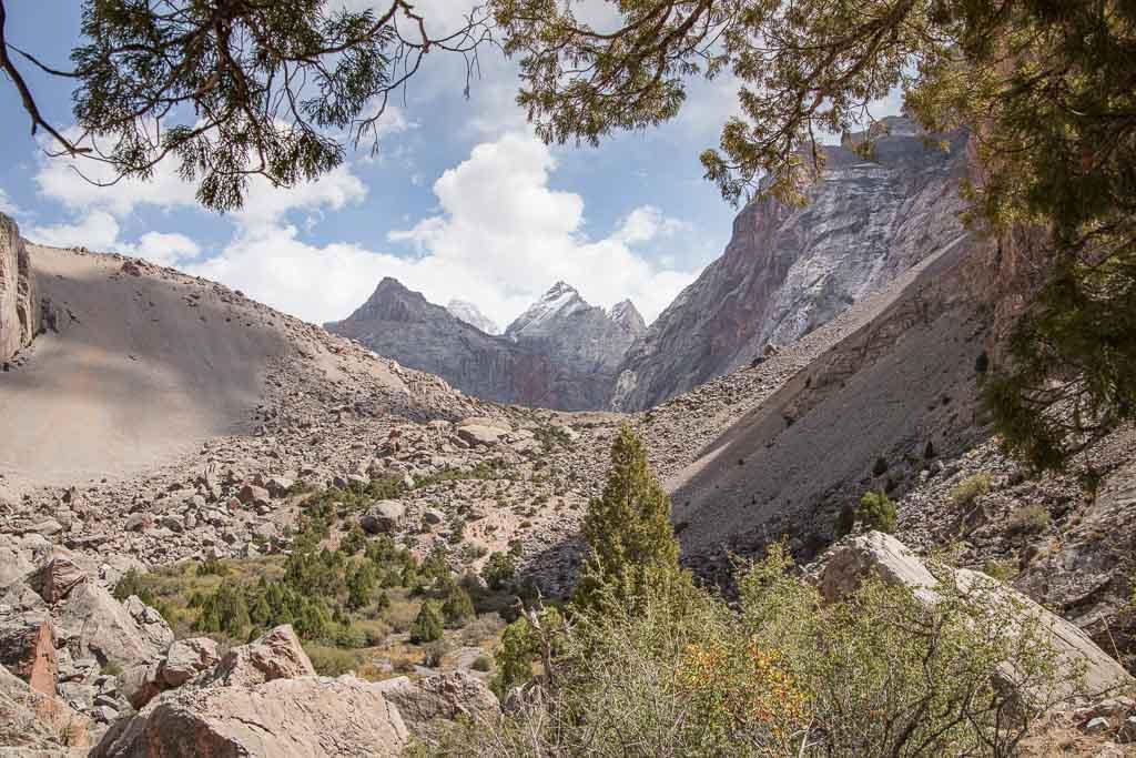 Chimtarga, Energia, Fann Mountains, Tajikistan, Bolshoi Allo, Zindon Valley