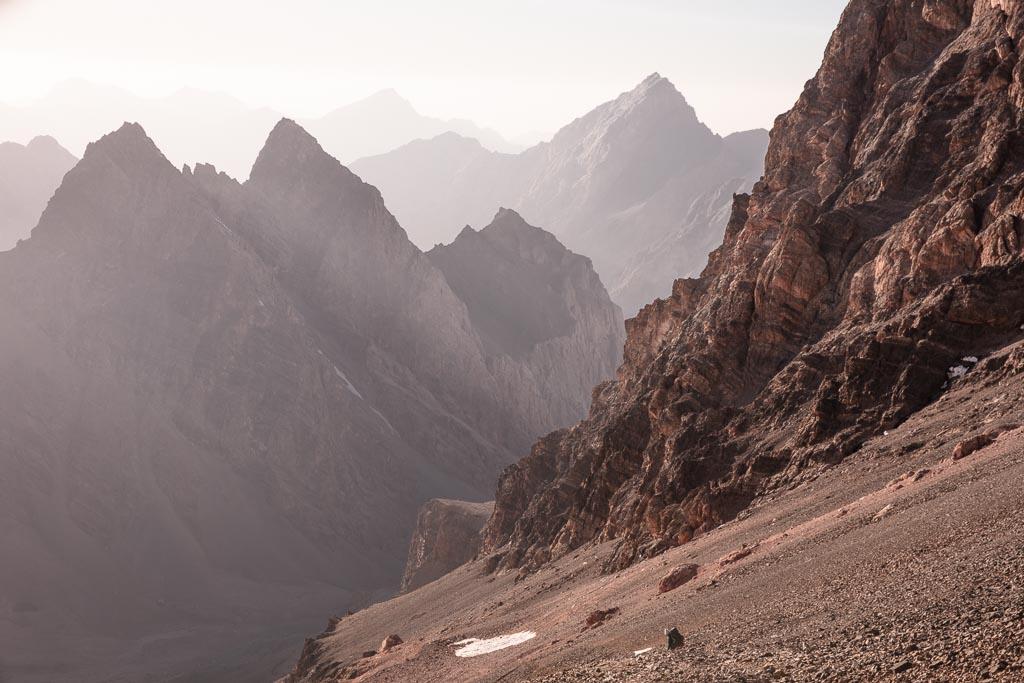 Chimtarga Pass, Chimtarga, Fann Mountains, Tajikistan