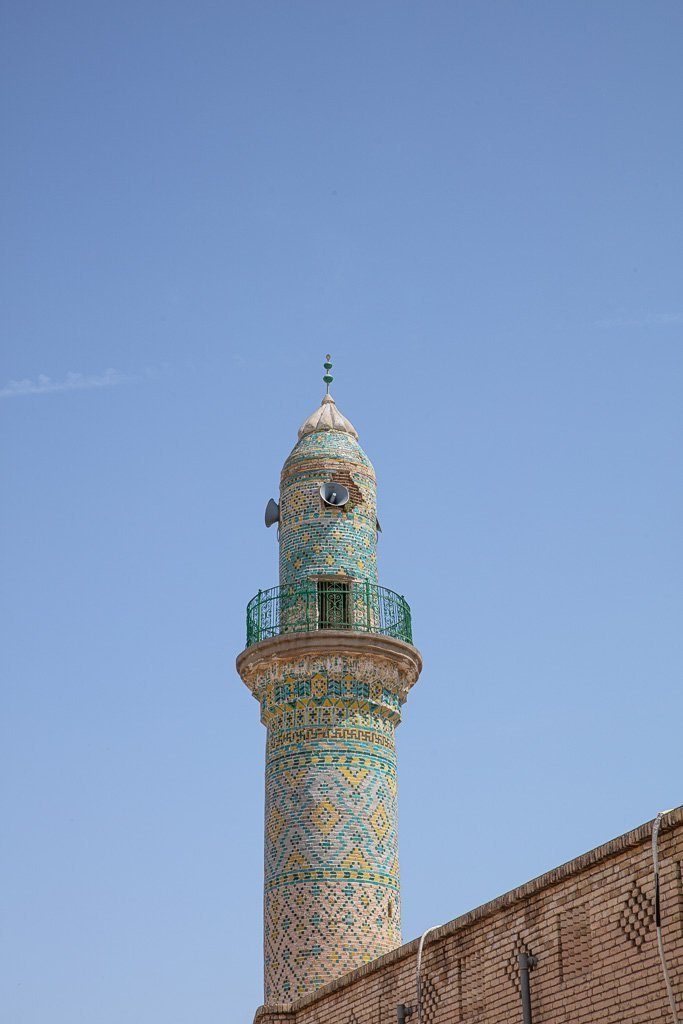 Erbil Citadel, Erbil, Hawler, Iraqi Kurdistan, Iraq, Kurdistan, Erbil Citadel Mosque, Erbil Citadel Minaret
