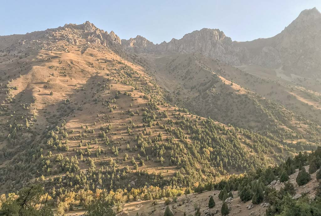 Karakul River Valley, Sarytag, Tajikistan, Fann Mountains