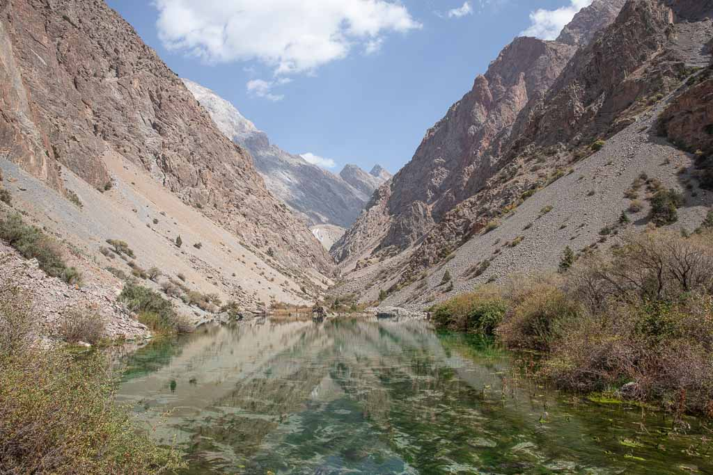 Maloye Allo, Zindon River, Zindon Valley, Fann Mountains, Tajikistan