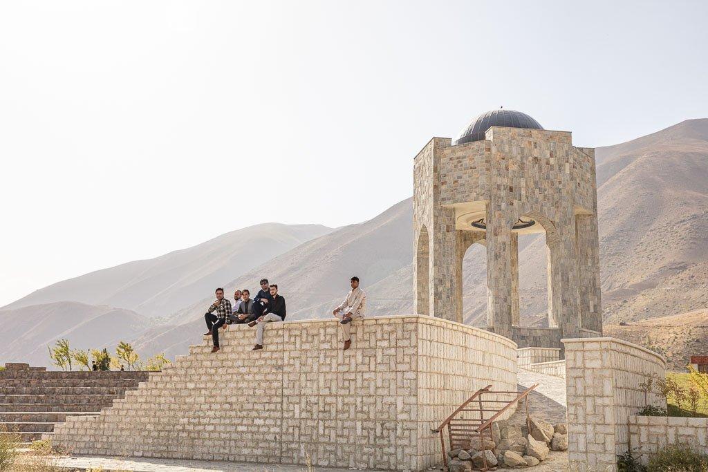 Mausoleum of Massoud, Bazarak, Panjshir, Panjshir Valley, Panjshir Province, Afghanistan