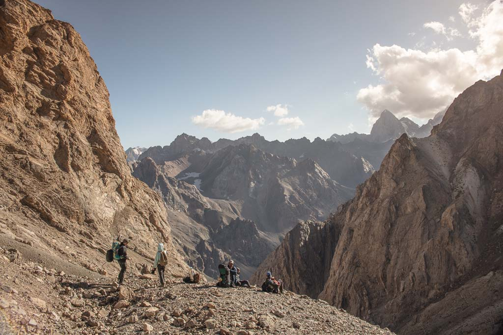 Mazalat Pass, Fann Mountains, Fann Mountains Guide, Tajikistan
