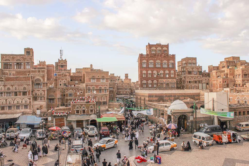 Old Sana'a Sana'a Souq, Sana'a Souk, Sana'a, Yemen