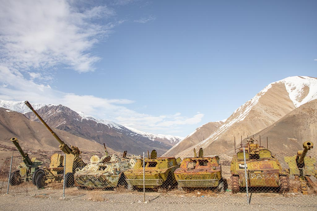 Panjshir Tanks, Bazarak, Panjshir, Panjshir Valley, Panjshir Province, Afghanistan