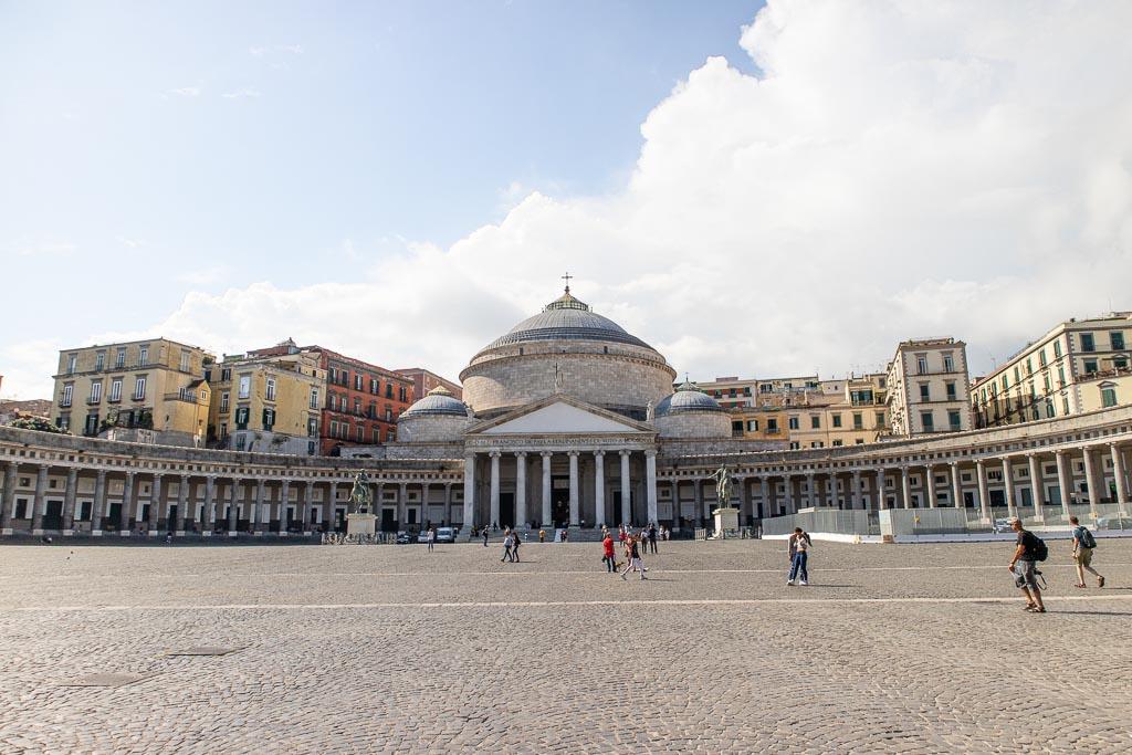 Naples, Campania, Italy, Piazza del Plebiscito