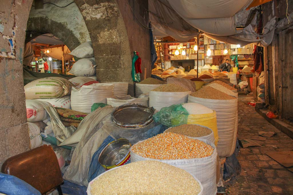 Old Sana'a, Sana'a Souq, Sana'a Souk, Sana'a, Yemen