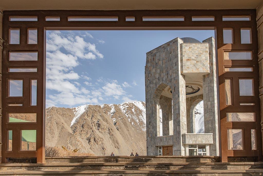 Tapa e Saricha, Mausoleum of Massoud, Bazarak, Panjshir, Panjshir Valley, Panjshir Province, Afghanistan