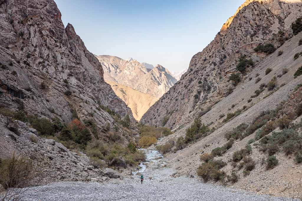 Zindon River, Zindon Valley, Fann Mountains, Sughd, Tajikistan