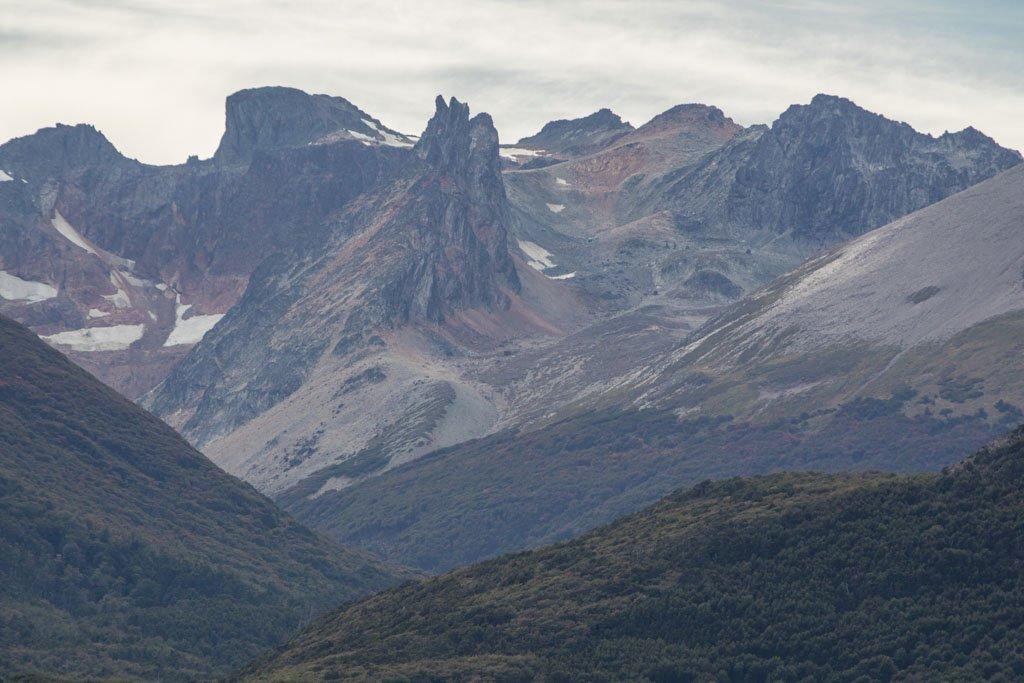 Andes Fueguinos, Ushuaia Bay, Beagle Channel, Tierra del Fuego, South America