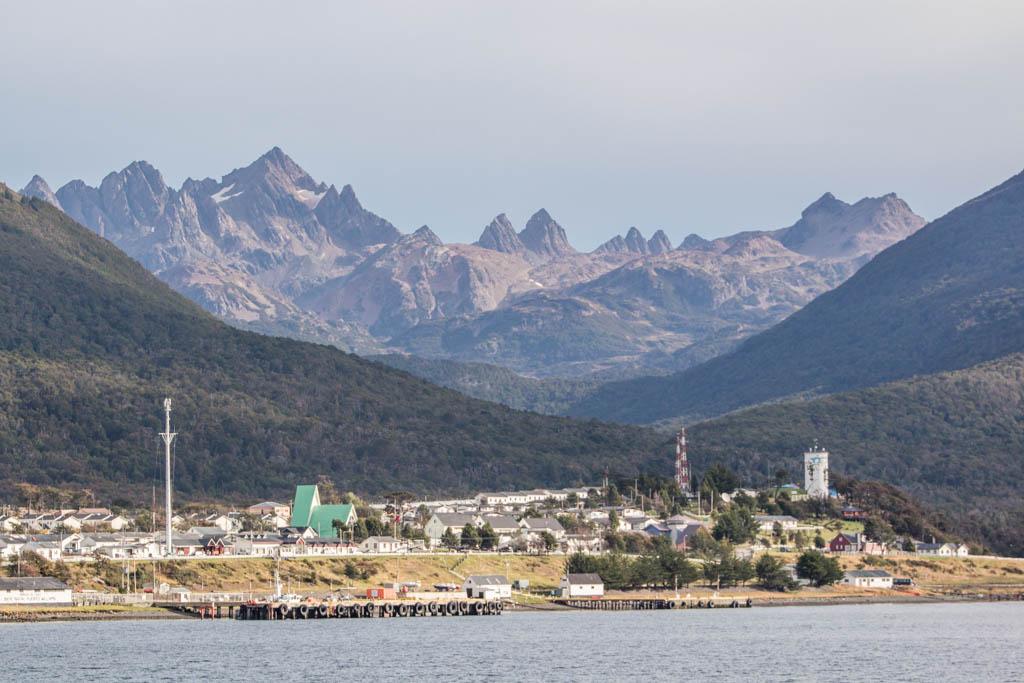 Puerto Williams, Navarino, South America Island, Chile, Southernmost town in the world, Isla Navarino, Dientes de Navarino