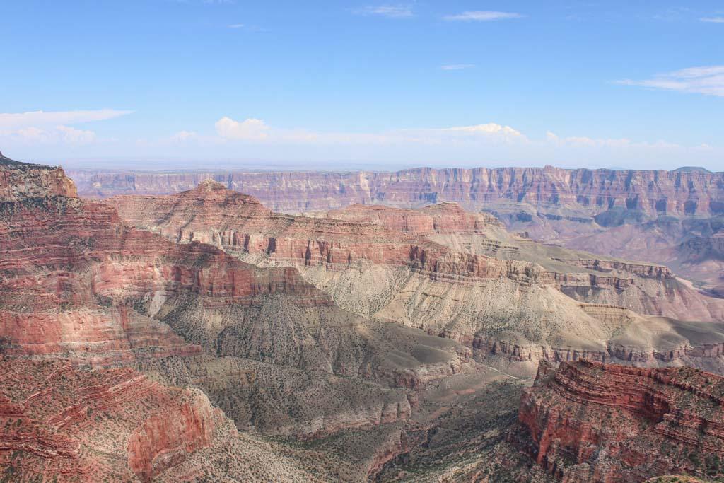 Walhalla Overlook, North Rim Grand Canyon, Arizona