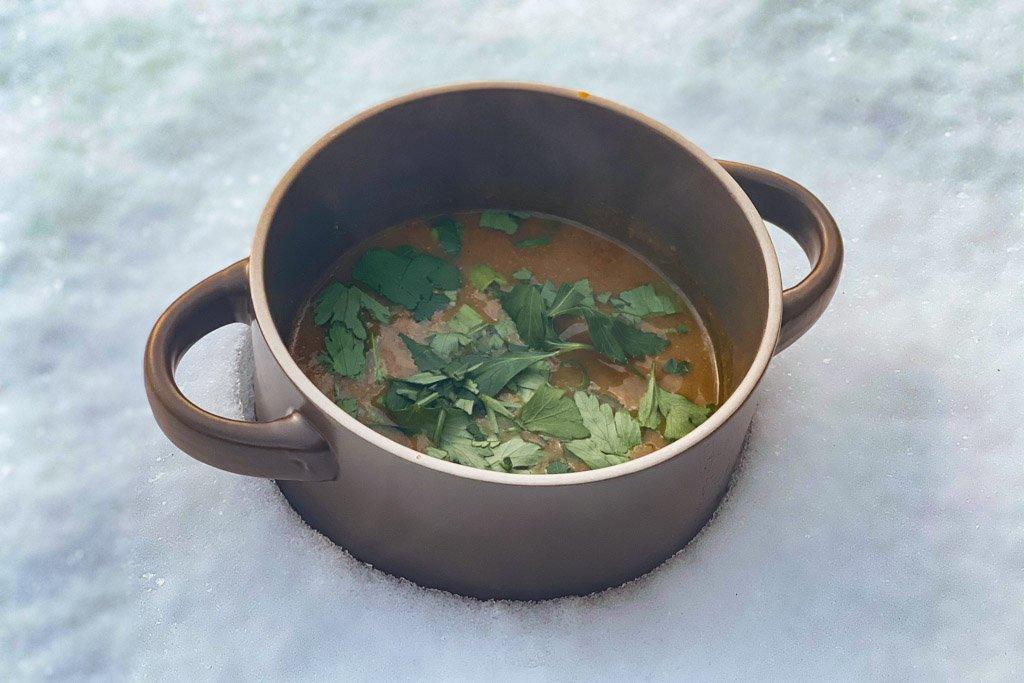 Kenyan Pumpkin Potato Soup, Pumpkin soup, Kenyan Pumkin soup, Kenyan soup, Vagabond camp cooking