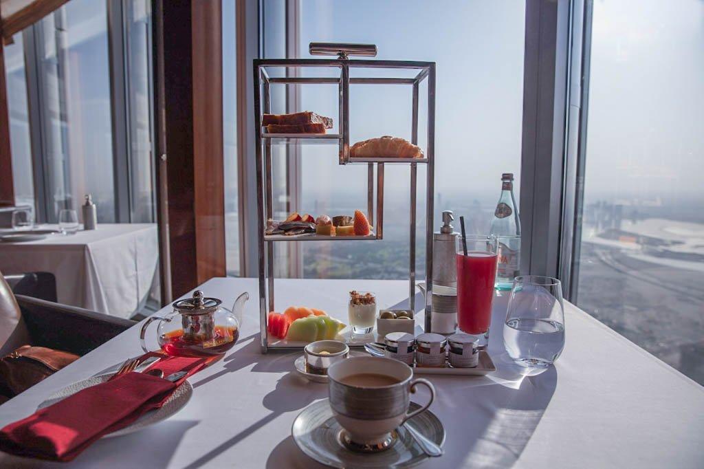 At.mosphere Restaurant, Dubai, Burj Khalifa, Burj Khalifa breakfast, At.mosphere breakfast, Dubai breakfast