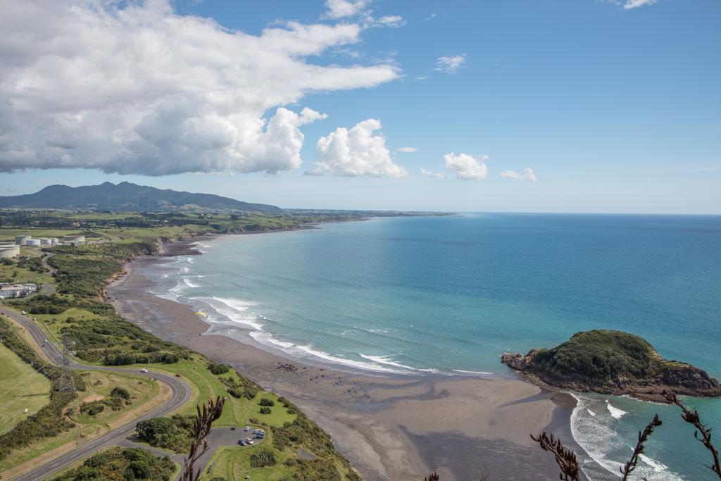 Paritutu Beach, Taranaki, New Zealand, New Plymouth, Snapper Rock, Motuotamatea