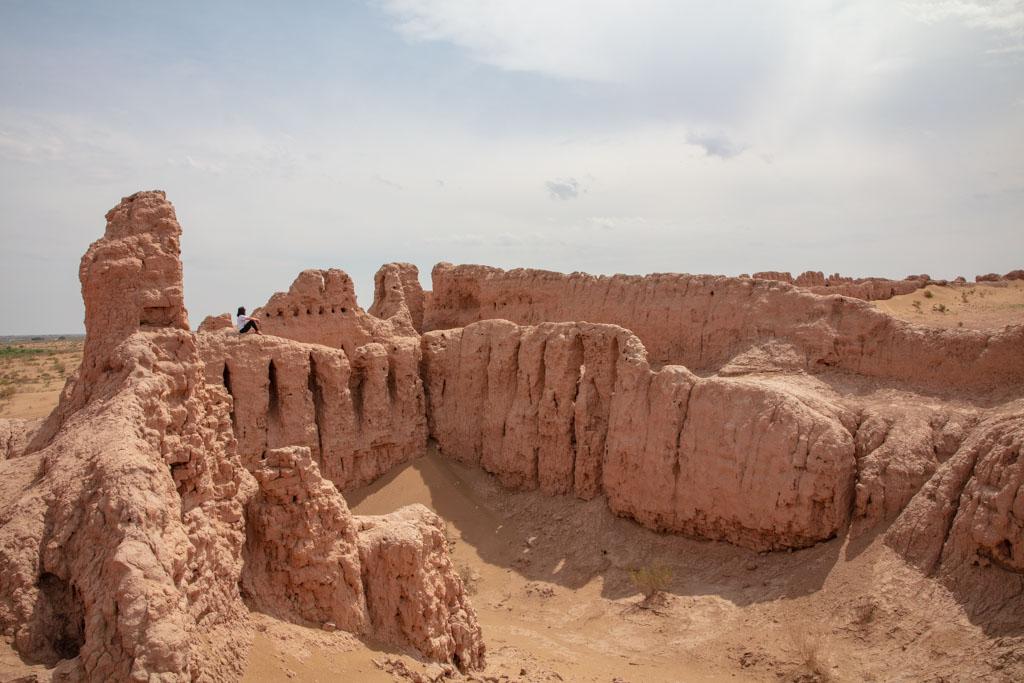 Janbas Qala,Khorezm Castles, Khorezm Fortresses, Karakalpakstan, Uzbekistan