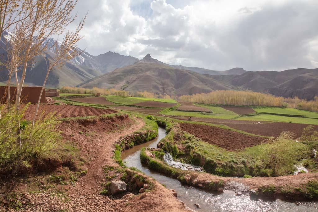 Qazan Village, Qazan Valley, Bamyan, Afghanistan, trekking in Afganistan